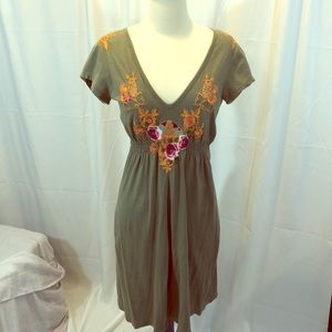 Johnny Was LA Embroidered Mini Dress / Tunic ~ M